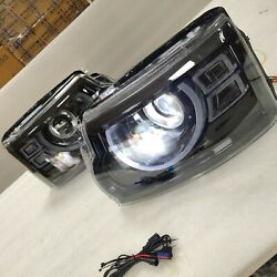 For Land Rover Discovery Led Head Lights 2010-2016 Year Full Led Front Lamps Cn