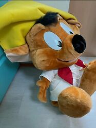 Extremely Rare Ace Looney Tunes Speedy Gonzales 2.5' Ft Plush Warner Bros