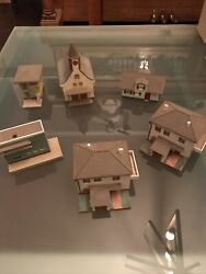 Vollmer Train Table Building Collection - 6 Buildings