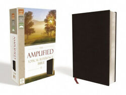 The Amplified Topical Reference Bible, Bonded Leather, Black Captures The
