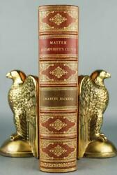 1840 1sted Master Humphreyand039s Clock Charles Dickens Leather Bound By Riviere