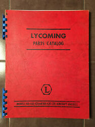 Lycoming Go-435-c2 And Go-435-c2b Parts Manual