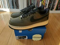 Nike Air Force 1 Undefeated Khaki Loden 10.5 10 Dunk Vs Af1 Got 5 On It Undftd