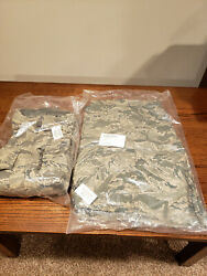 Military Issue Gortex Jacket And Pants-tiger Stripe Brand New Both Large Regular