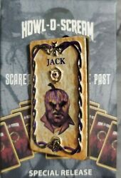 Busch Gardens Pin Howl O Scream Scareactors From The Past Jack