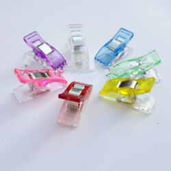 Mini Jumbo Wonder Clips Fabric Clamps Craft Sewing Quilting Binding Clothes 65pc $7.99