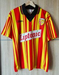 Maillotvintage Rc Lens / 1995-96 / Home / Taille M / Olympic / Liptonic