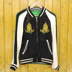 Rude Gallery Andtimes Rockinand039 Jelly Bean Reversible Jacket Black Green Size 1 Japan
