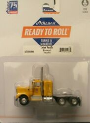Athearn Ho Kw Kenworth Truck Tractor Union Pacific Up Yellow 1/87 Ath41066