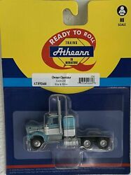 Athearn Ho Kw Kenworth Owner-operator Truck Tractor Lt Blue/white 1/87 Ath92660