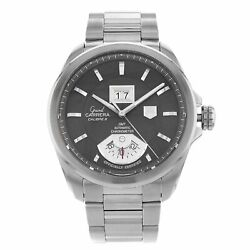 Tag Heuer Waz2113.ft0823 Carrera 43mm Menand039s Stainless Steel Watch