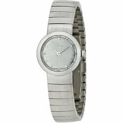 Christian Dior Cd041110m002 Baby D 23mm Womenand039s Diamond Stainless Steel Watch