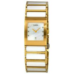 Rado R20792901 Integral Womenand039s Two-tone Stainless Steel And Ceramic Watch