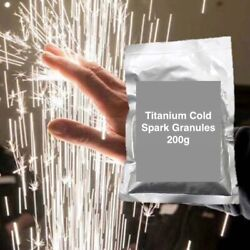 Cold Spark Machine Titanium Powder Six 6 200g Bags - Shipping From Usa