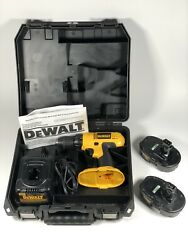 Dewalt Dc970 1/2 18v Cordless Drill Driver Battery Charger Case + Extra Battery