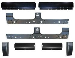 Cab Corner And Front And Rear And Inner Rocker Panel Kit For 99-16 F250 Super Crew Cab