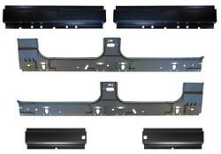 Front And Rear And Inner Rocker Panel Kit For 99-16 F250 Super Duty Crew Cab Pickup