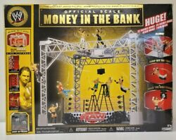 Wwe Jakks Official Ring Scale Money In The Bank Playset Huge 32 Wide 40+ Pieces
