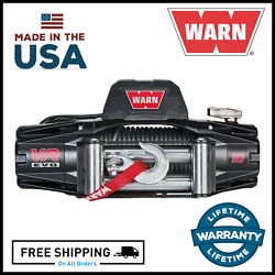 Warn Vr Evo 10 Standard Duty 10000 Lb Winch With Steel Cable For Chevy / Gmc