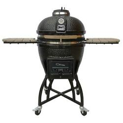 Vision Grills Kamodo Pro Grill Ceramic Charcoal Cover Vision Classic Smoker Bbq