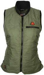 Mobile Warming Womens Company Bluetooth Battery Heated Vest 7.4v