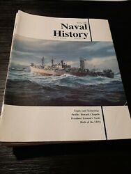 Mix Lot Of 14 Naval History Magazines Us Naval Institute 1990 - 1995