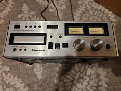 Vintage Panasonic Rs-808 8-track Stereo Record And Playback Deck Tested And Working