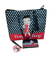 Betty Boop Tote Bag And Wallet Set