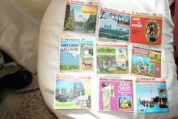 9 View-master Reels Sets Complete No Wear No Bubbling Just Ektachrome Red