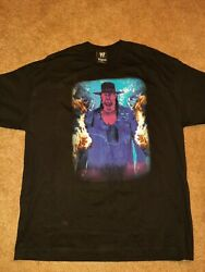 Authentic Wwe Wwf Vintage Undertaker Xl T Shirt Lower Price.