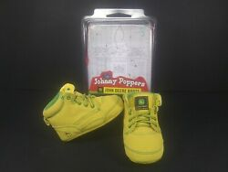 Baby John Deere 'johnny Poppers' Size 6 Months-9 Months Infant Booties Boots