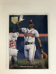 1995 Upper Deck Electric Diamond Gold Fred McGriff #45 $10.99
