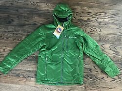 Big Agnes Farnsworth Hooded Lightweight Jacket Menand039s Green Or Gray Nwt 180