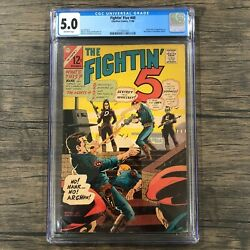 Fightinandrsquo Five 40 Cgc 5.0 First Appearance Of Peacemaker John Cena Hbo Max