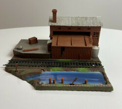 Life-like Forest Lumber Co. Operating Logging Mill Ho Railroad Scenery