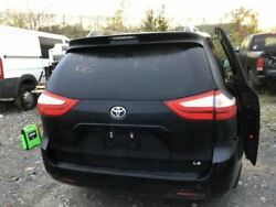 2011-2014 Toyota Sienna Trunk/hatch/tailgate Le W/back Up Camera Black 3252762