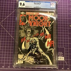 Moon Knight 8 Cgc 9.6 - White Pages Classic Bill Sienkiewicz Cover