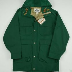 Vintage 80s Woolrich Parka Deadstock Rare Outdoors Usa Made 1980s New Old Stock