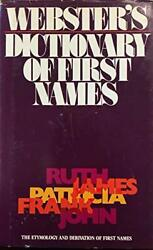 Webster s dictionary of first names