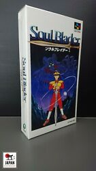 Soul Blader - Super Famicom Japan - Brand New - Mint Condition - Neuf +++++