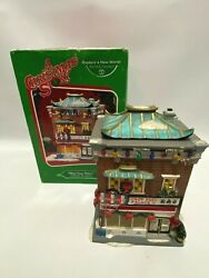 Department 56 A Christmas Story Village Lighted Building Chop Suey Palace