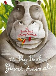 Big Book of Giant Animals The Small Book of Tiny Animals Hardcover by Banf...
