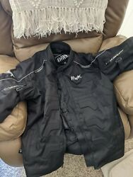 Hawk All Weather Motorcycle Jacket For Men Xl
