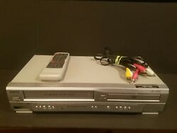 Sanyo Dvw-7200 Dvd Player Vhs Recorder Combo 4head Vcr W/ Remote
