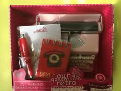 Our Generation Pink Typewriter Take A Letter Set New For Your Dolls