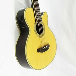 Washburn Ab35 5-string Acoustic-electric Bass Natural W/ Case