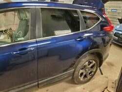 Driver Rear Side Door Electric With Privacy Tint Glass Fits 17-18 Cr-v Blue