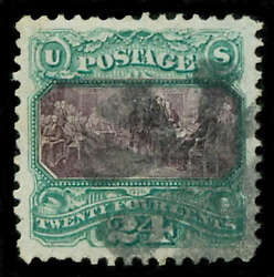 Momen Us Stamps 120 Used Pse Graded Xf-90