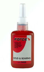 Force Brand-stud And Bearing Adhesive Red X60345 10ml Bottle X 3