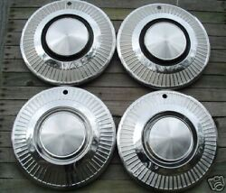 1963-64 Plymouth Valient Hubcaps Hub Caps Wheel Covers